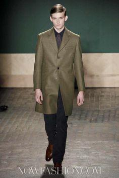 Perry Ellis by Duckie Brown Menswear Fall Winter 2013 New York