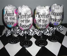 Mother of the Bride and Mother of the Groom Wine by winewhimsy