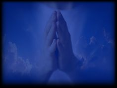 Holy Mass images...: Praying Hands Presentation Backgrounds, Praying Hands, Catholic, Journaling, Prayers, Clouds, Nature, Outdoor, Outdoors