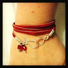 Very easy wrap bracelet I just made!