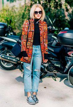 Sério, estamos apaixonadas por esse look! O oxford só deixou tudo ainda mais cool.