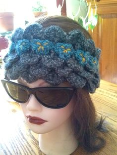 Luna Fleece Lined Headband Elven Collection Large — Alily Crochet