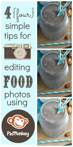 4 Simple Tips for Editing Food Photos in Picmonkey.com  http://www.somethingswanky.com/4-simple-tips-to-edit-food-photos-using-picmonkey-com/