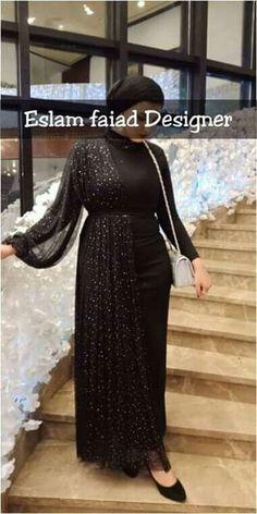 so cute - Hijab Style Hijab Prom Dress, Hijab Evening Dress, Hijab Wedding Dresses, Evening Dresses, Prom Dresses, Mode Abaya, Mode Hijab, Beautiful Dress Designs, Beautiful Dresses