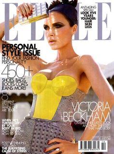 Victoria Beckham - Capa Revista Elle