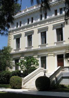 The Presidential Mansion. Attica Greece, Crete Greece, Athens Greece, Mykonos Greece, Santorini, Cyprus Island, My Athens, Greek Beauty, Greek House