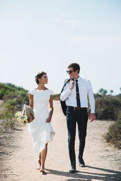 minimalist wedding dress...oh my
