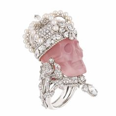 Christian Dior's Skull Ring Jewelry