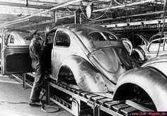 VW Beetle fabric 1947
