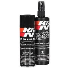 K 99-5000 Aerosol Recharger Filter Care Service Kit, (filter cleaner, kn, air filters, filter oil, automotive, air filter, american made, auto parts, filter, auto air filter)