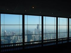 Sears Tower viewed from John Hancock Observatory @ Chicago - USA