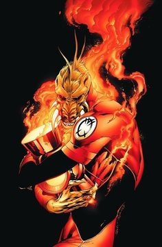 Larfleeze - Orange Lantern