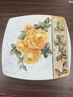 Cheryl Meggs China Painting, Pictures To Paint, Decoupage, Projects To Try, Tableware, Crafts, Inspiration, Decorative Plates, Fabric Painting