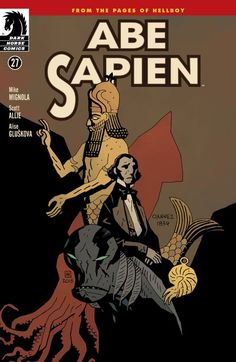 Abe Sapien: Dark and Terrible Ms) Abe Sapien, Mike Mignola, Dark Horse, Pop Culture, Novels, Comics, Movie Posters, Baltimore, Illustration