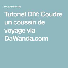 Tutoriel DIY: Coudre un coussin de voyage via DaWanda.com
