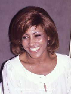 Tina Turner 1977 photography by © Chris Walter