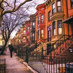 https://flic.kr/p/F2YoJJ | Sunset Park Brooklyn Brownstones | Sunset Park, Brooklyn, New York City. Beautiful colorful brownstones.    ----   I'm on Instagram!!!!  See my everyday life on Snapchat: @travelinglens  ---   View my New York City photography at my website NY Through The Lens.  View my Travel photography at my travel blog: Traveling Lens.  Interested in my work and have questions about PR and media? Check out my:  About Page | PR Page | Media Page
