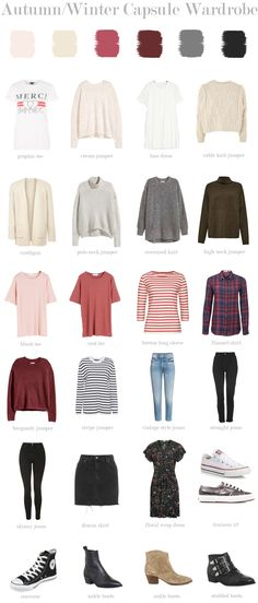 My Autumn/Winter Capsule Wardrobe