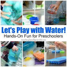 15 Fun Water Activities for Preschoolers
