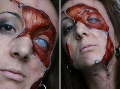Anatomy of a makeup. Startling Special makeup effects by Blanche Macdonald instructor and TV/Film FX artist, Celine Godeau.