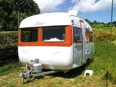 Vintage caravan makeover Concord NZ
