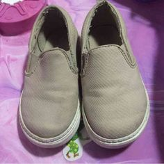 Gap slip on sneakers These have been used. But still in good condition. Toddler size 9 GAP Shoes Sneakers