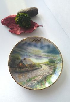 & RESERVED...not for purchase | Thomas kinkade The ou0027jays and Plates
