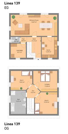 Grundriss ohne Keller (auch mit Keller möglich)