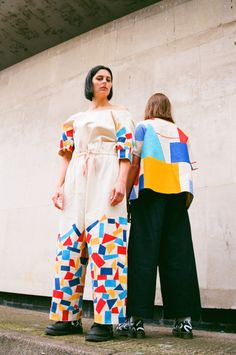 Liisa Chisholm's graduate collection, styled with illustrated 1461 shoes…