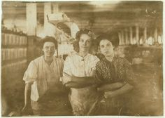 """Indianapolis Cotton Mill Workers: The movement toward social and economic reform was so revolutionary that historians named the early century """"the Progressive Era. Vintage Photographs, Vintage Photos, Lewis Hine, Cotton Mill, Working Class, Library Of Congress, Before Us, Working Woman, Historian"""
