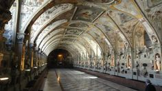 Great Hall in the Residenz Munchen, Munich Germany