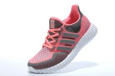 best cheap 9aa44 453b6 WMNS Adidas Yeezy Ultra Boost 2016 GS Charcoal Grey Hyper Punch UK Trainers  2017 Running Shoes 2017