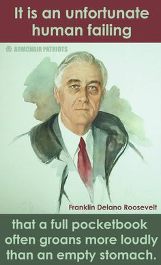no wonder we remember and honor FDR