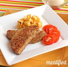 Slow Cooker Breakfast Meatloaf from http://meatified.com #paleo #glutenfree