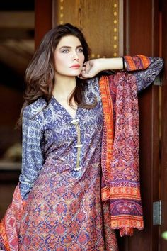 Sana Salman Winter Dresses 2013-2014 for Women