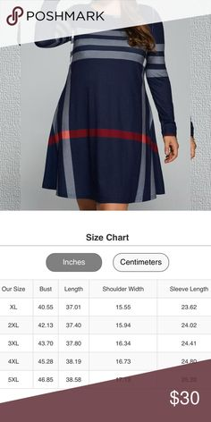 Navy Plaid Dress Firm Price Dresses