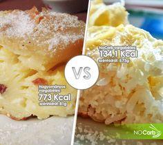 Hagyományos Vargabéles -VS- NoCarb Vargabéles | Klikk a képre, recept a hozzászólásokban! Food, Essen, Yemek, Meals