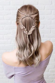 Snake Braids Styles For Long Hair ❤  #lovehairstyles #hair #hairstyles #haircuts