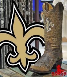 Ladies New Orleans SAINTS Boots