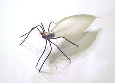 Vetro satinato grande lampadina Bug Spider Kenny