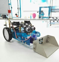 Home-made additions to the Mbots could make for fun solutions to challenges!