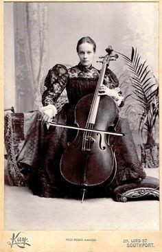 cellist vintage - Google Search