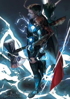 Thor and Rocket Raccoon (Infinity War) Marvel Dc Comics, Odin Marvel, Marvel Avengers, Marvel Fanart, Loki Thor, Marvel Heroes, Loki Laufeyson, Marvel Characters, Marvel Movies