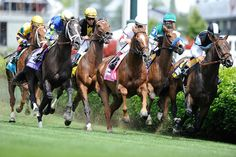 And down the stretch they come.... - Kentucky Derby weekend 2014