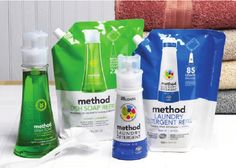 Method Adds Pouches to Product Line
