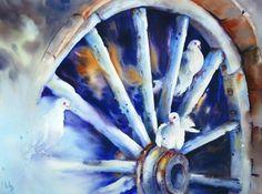 watercolor by Maryse de May