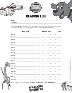 Have kids use this handy reading log to track the books they read this summer! Click through to learn more about the Scholastic Summer Reading Challenge! #summerreading