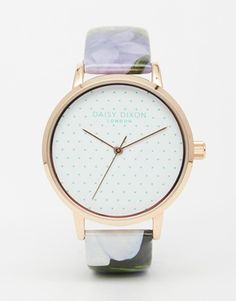 Reloj con diseño floral Suki de Daisy Dixon