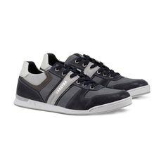 GAASTRA Hatch - Sneakers en cuir mélangé - bleu