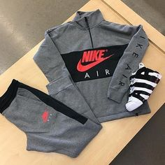 Mens Fashion Sneakers – The World of Mens Fashion Swag Outfits Men, Tomboy Outfits, Teenager Outfits, Trendy Outfits, Fashion Outfits, Mens Fashion, Nike Outfits For Men, Sneakers Mode, Sneakers Fashion